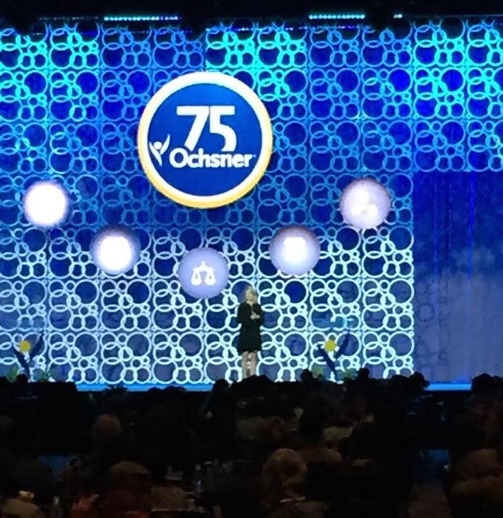 Dr. Michelle K. Johnston, Leadership Coach, Management Professor & Keynote Speaker - Keynote Presentation / Keynote Speaking Ochsner Medical Center 75th Anniversary