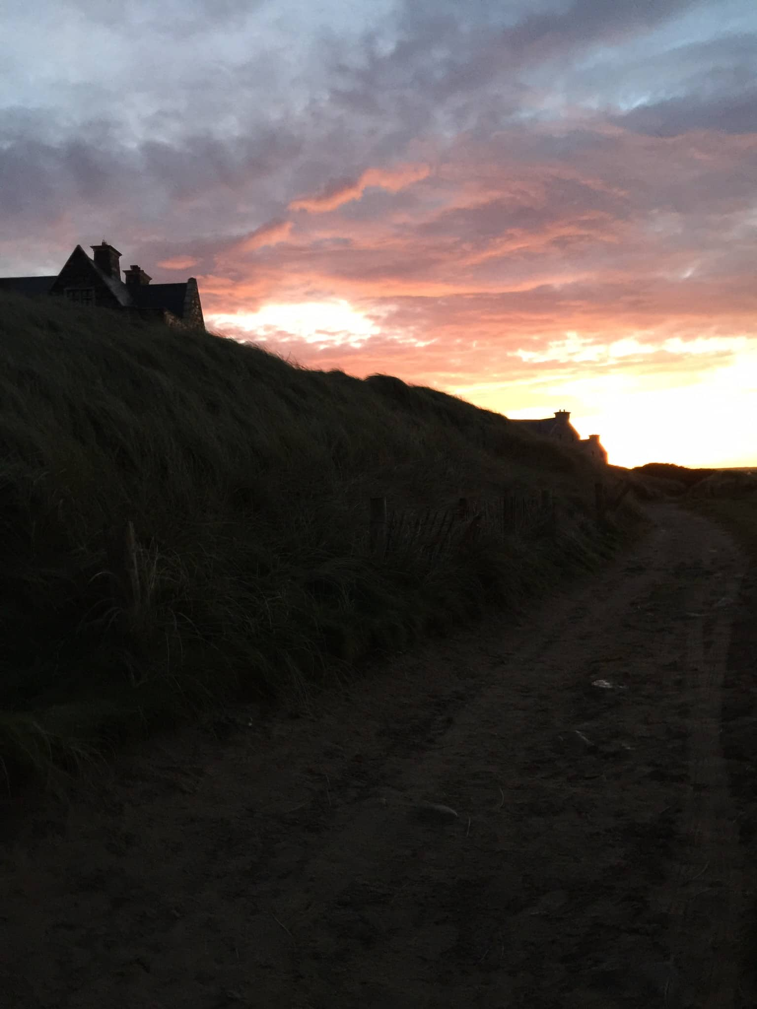 Sunset Trump Hotel Doonbeg Ireland