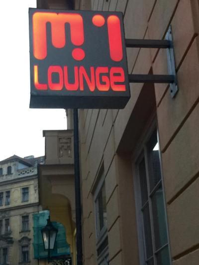 M1 Lounge Bar in Prague
