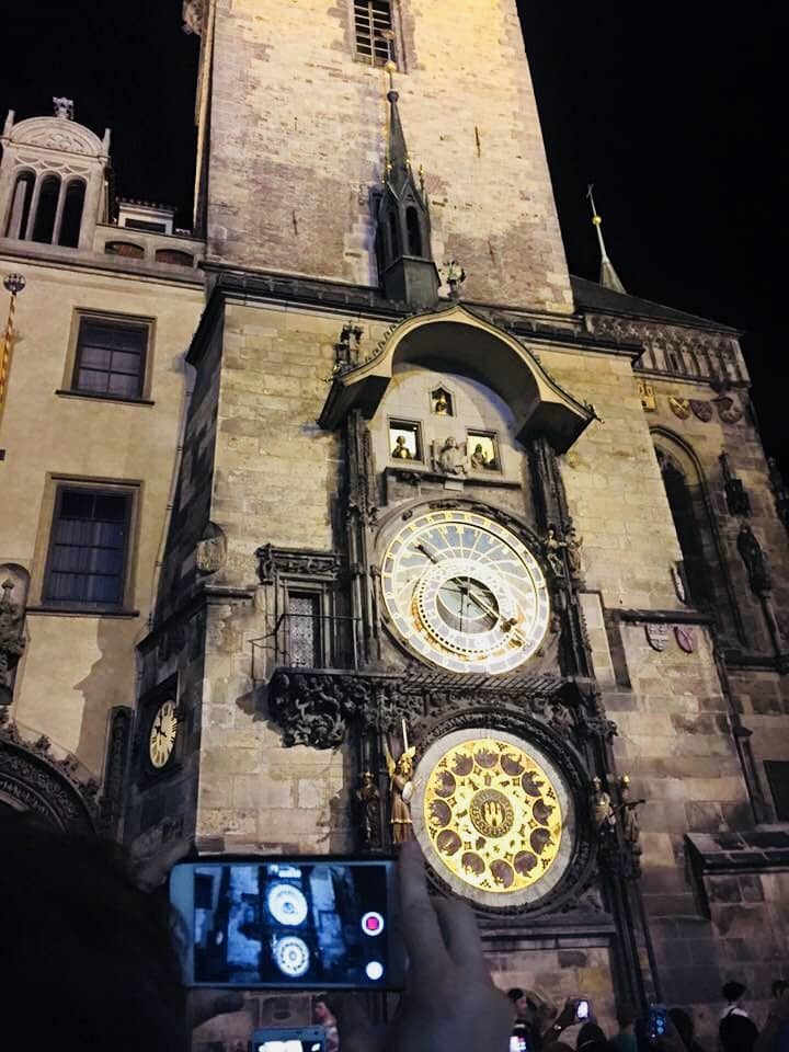 Prague Old Clock Tower