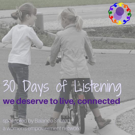 30 Days of Listening