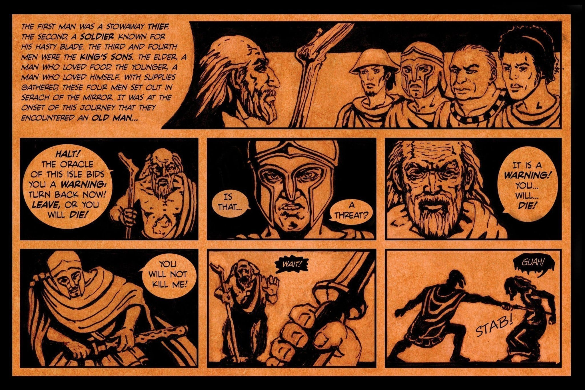 A Greek Tragedy Page 3