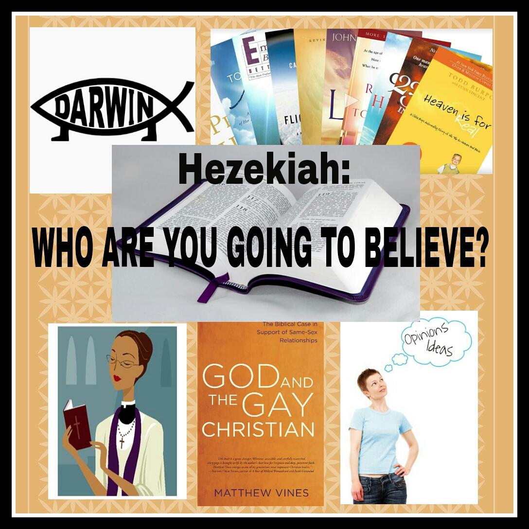 Hezekiah Who Are You Going To Believe Sunday School