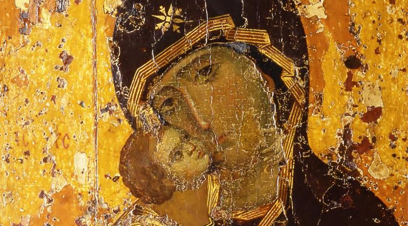 The Vladimir Mother of God (12th century)