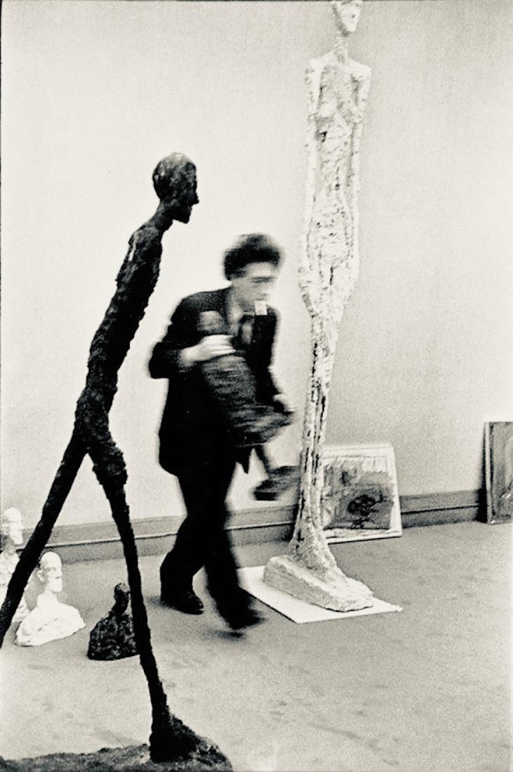 Alberto Giacometti, 1961 - photo by Henri Cartier-Bresson