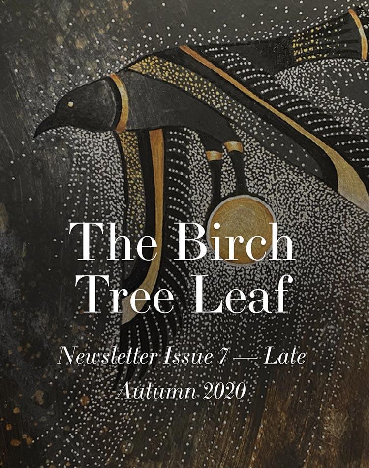 The Birch Tree Leaf - Late Autumn 2020