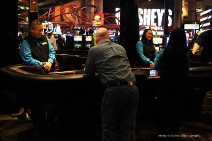 Las Vegas hotel casino.