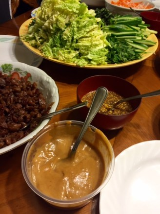 Peanut sauce and fish sauce