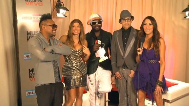 Black Eyed Peys - AMA's 2010