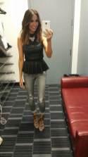 #MMSteez - SportsNation 4/3/15: Top & Jeans: Bebe | Shoes: Dolce Vita | Necklace: Danielle Stevens | Makeup: Karla Olivares
