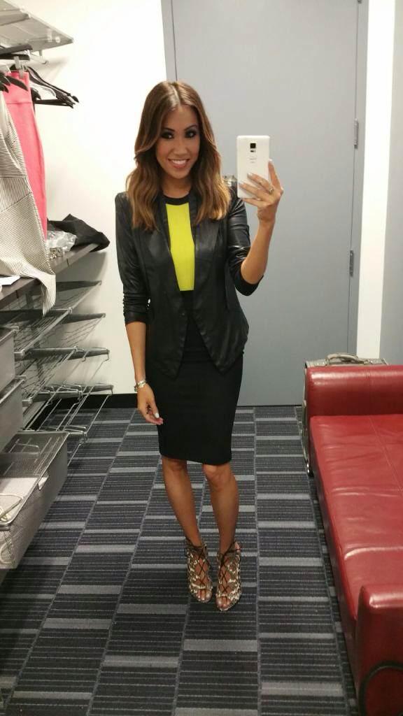 #MMSteez - 4/10/15 // Jacket: Gracia New York | Top: Bariano Australia | Skirt: Bebe | Shoes: Dolce Vita | Jewelry: Nissa | Makeup: Berly Rodriguez | Bronzed Skin: Katrina Brown