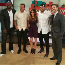 Thursday, April 9th: Eric and Mychal Kendricks join us on SportsNation!