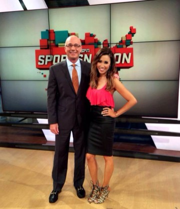Co-Hosting SportsNation with Coach Dave Miller 6/8/15