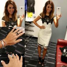 #MMSteez -SportsNation 6/11/15 - Dress: Bariano Australia | Shoes: Dolce Vita | Accessories: Izzr & Nissa Jewelry | Makeup: Regan Smith | Hair: The Bodester | Nails: Caption Polish