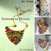 ONE TUTORIAL A DAY FOR 31 DAYS – DAY 27 OF MY JOURNEY – INSPIRED BY MOSAIC