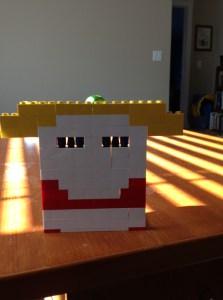 E's Lego Sculpture