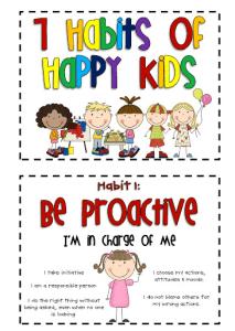 Habits of Happy Kids