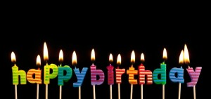 Hapy Birthday Candles