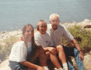 papa at Salt Lake