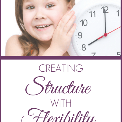 Creating Structure with Flexibility