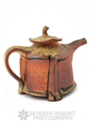 Ceramic teapot by Terry Osborne Pottery