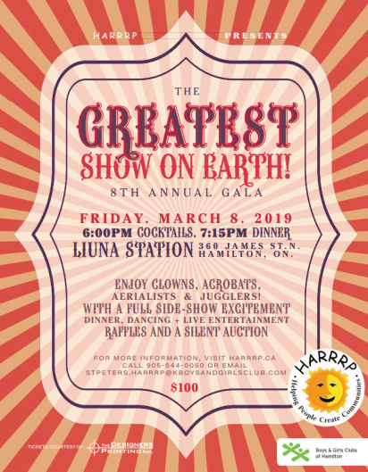 HARRRPGreatest Show on Earth Poster