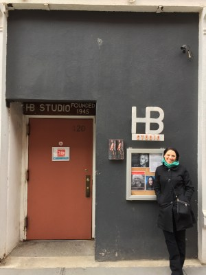 HB Studio in NYC, Where Gati started her studies in acting