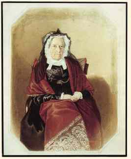 Elizabeth Macarthur in old age. Source: https://blogs.hht.net.au/cook/happy-birthday-elizabeth-macarthur/
