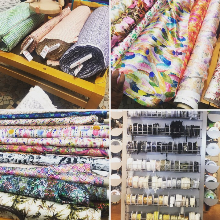 Paris fabric shopping (in 6 hours)..