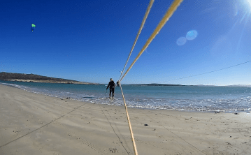 kite line mounth