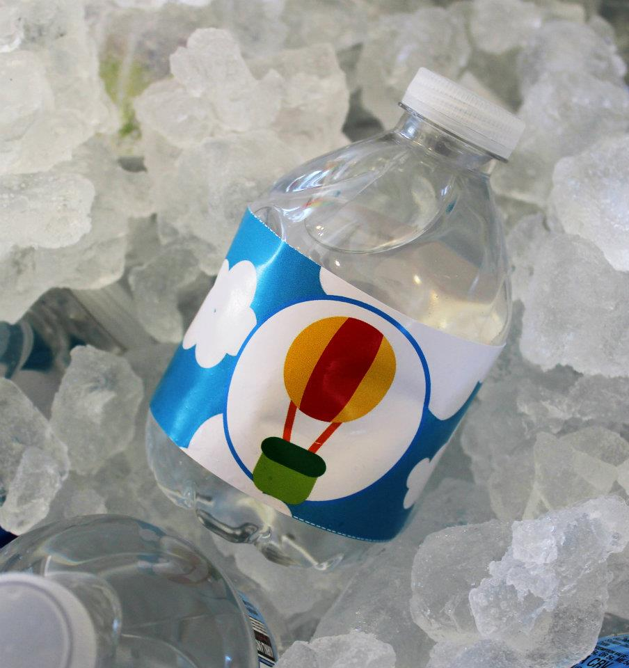 Transportation water bottles
