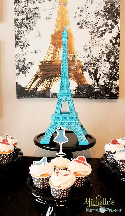 A Day In Paris Dessert Table Parisian Party Ideas