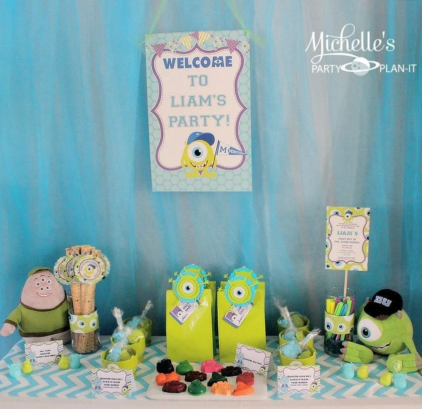 Monsters University Back To School Party