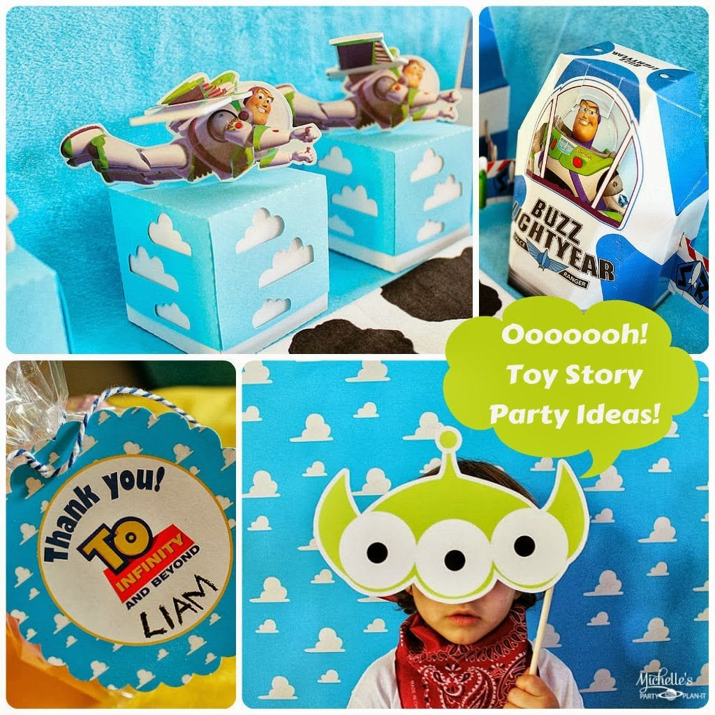 Toy Story Party Ideas Decorations : You ve got a friend in me michelle s party plan it