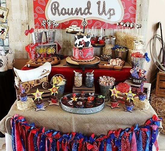 Liam's Round Up – Part 1 Western Party Ideas