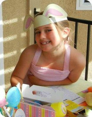 DIY Easter Bunny Ears Printable by Michelle Stewart