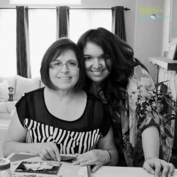 mom and I