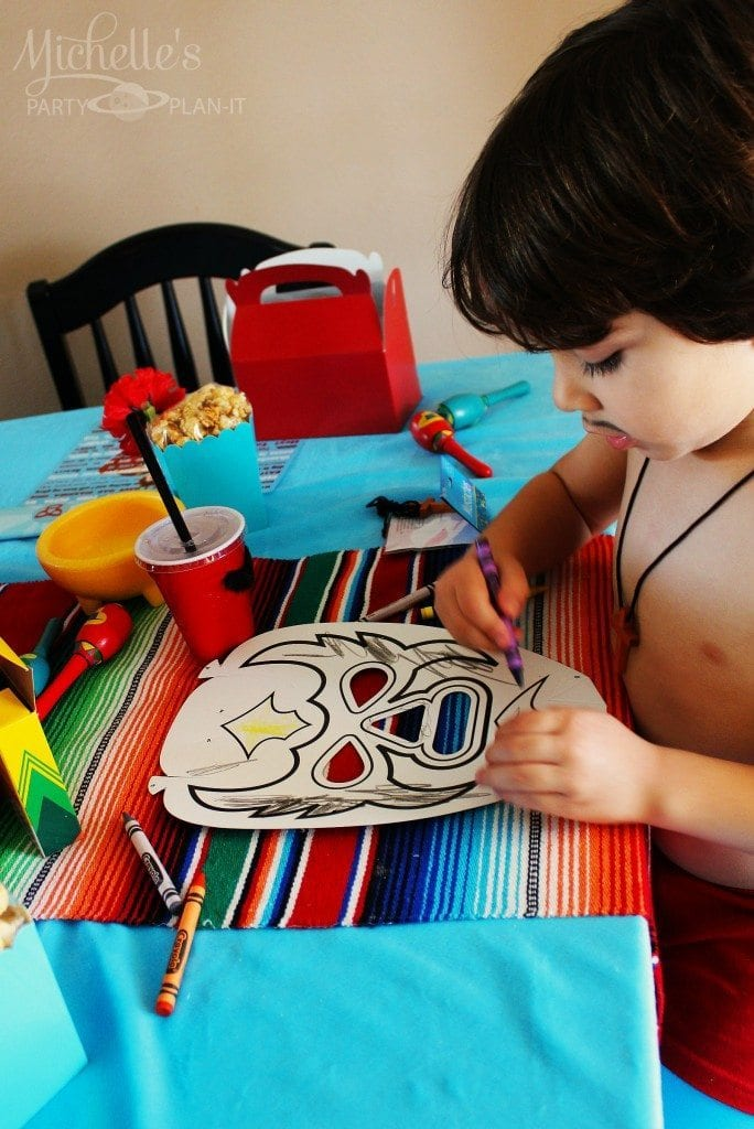 Nacho Libre Party activity