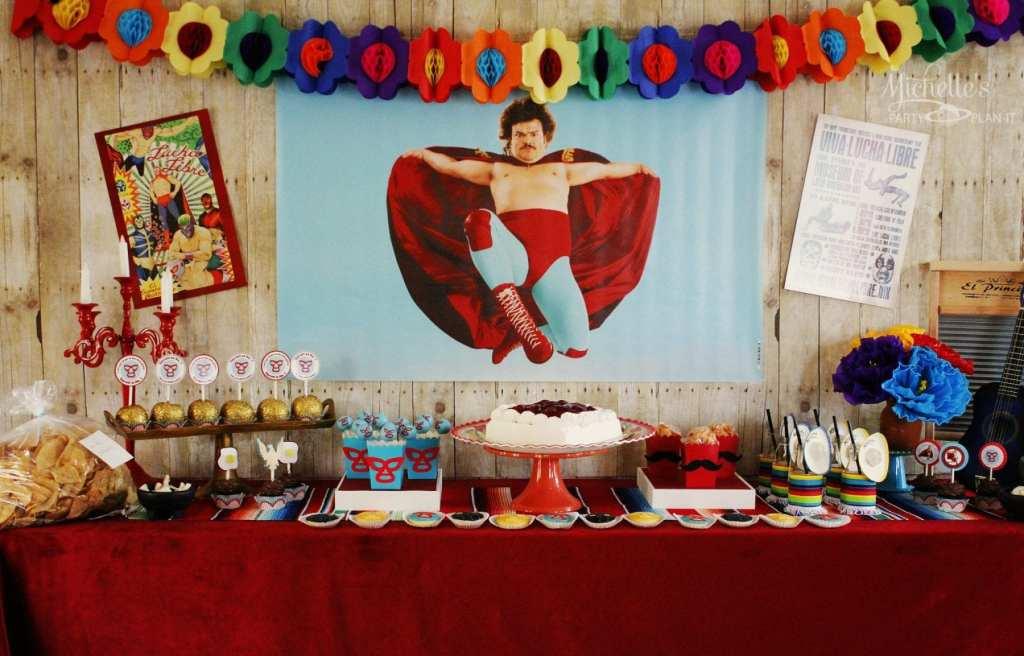 Nacho Libre Father's Day Party