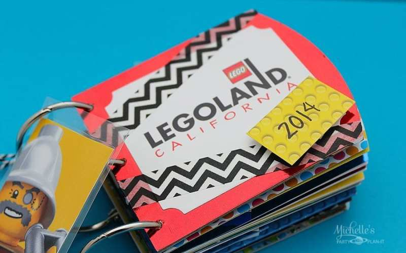 Sizzix Tutorial – LEGOLAND Upcycled Brag Book