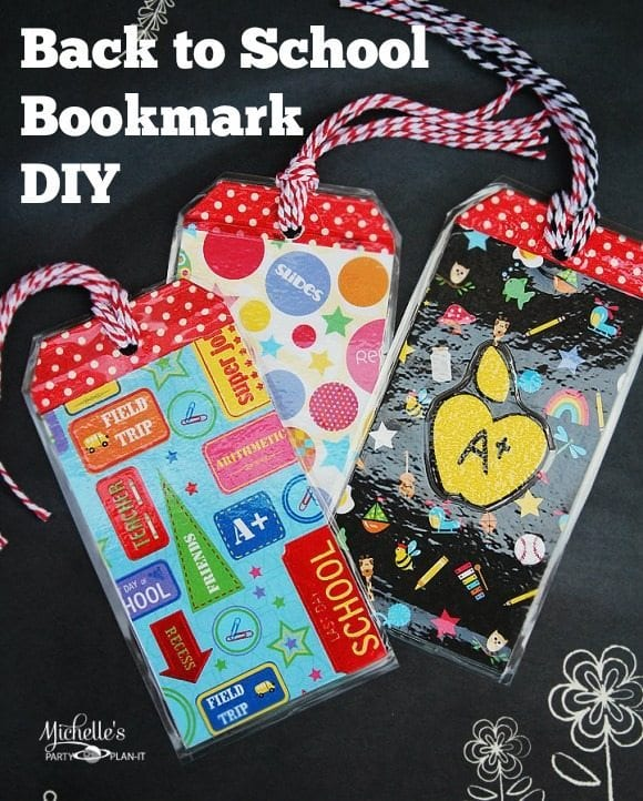 Back To School Craft Diy Bookmarks Michelle S Party Plan It