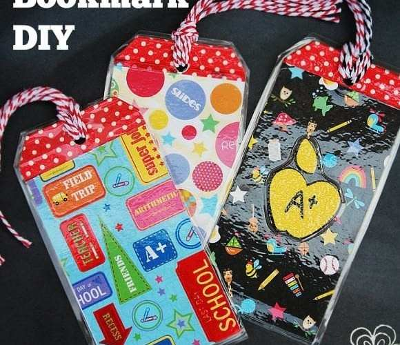 Back to School Craft – DIY Bookmarks