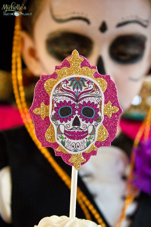 Day of the Dead Party Topper