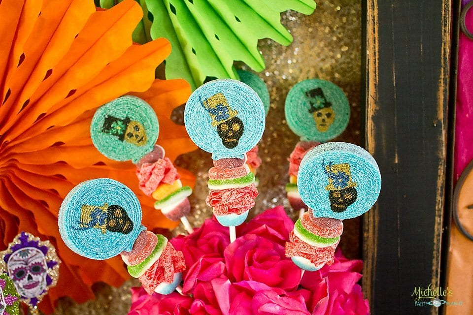 Day of the Dead Party Candy Bobs