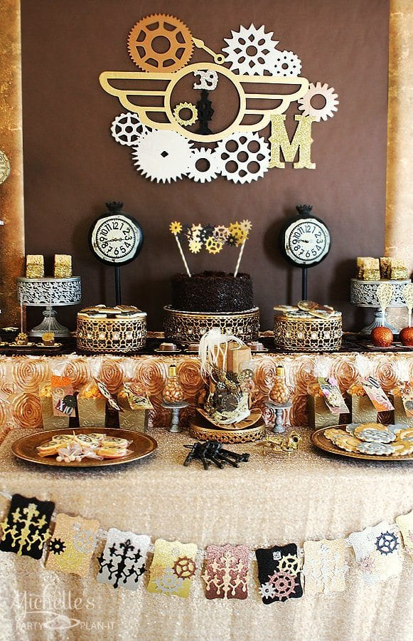 Steampunk Cake Decorating Supplies