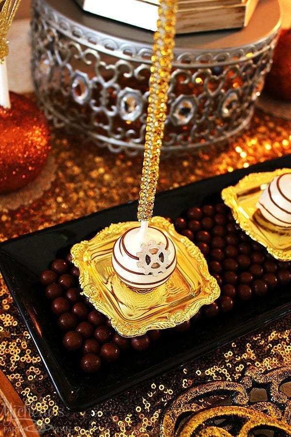 Steampunk Cakepops