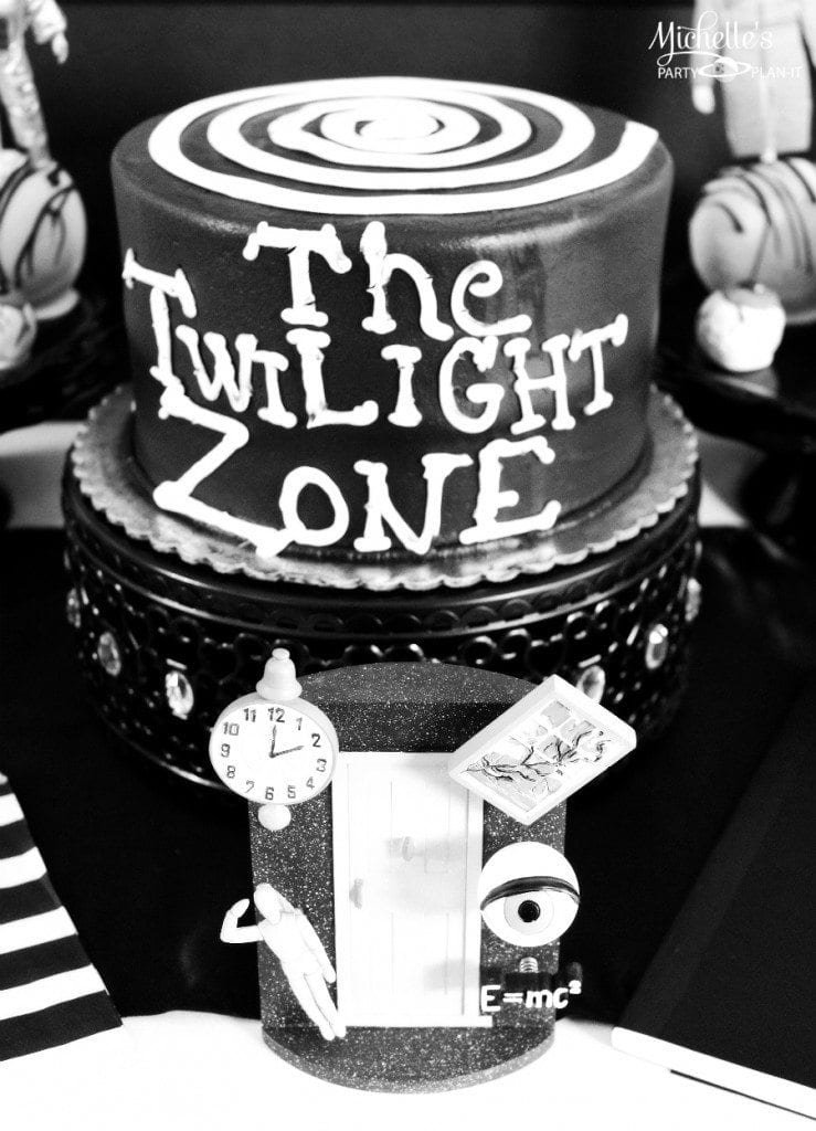 Twilight Zone cake