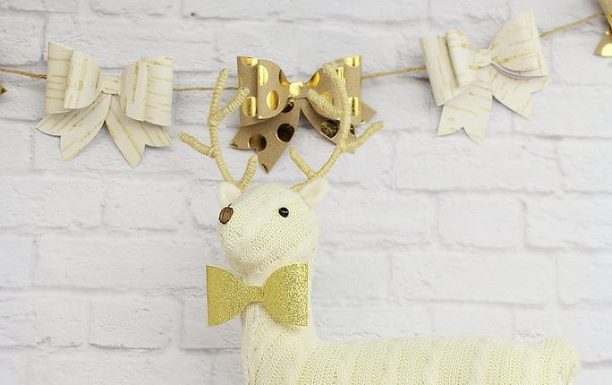 Christmas Bow Garland | Sizzix Tutorial