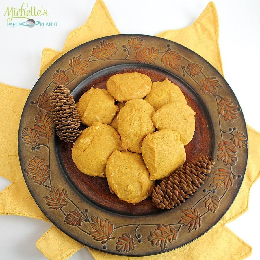 coconut pumpkin cookies