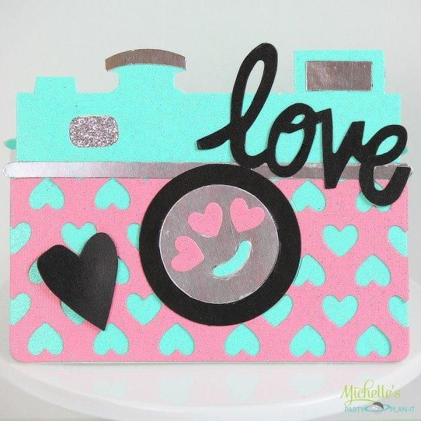 You Have Captured My Heart   Sizzix Valentine Card